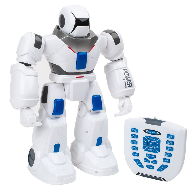 Robot cu telecomanda IR, 38 cm, lumini si sunete, 3 ani+ 2021 shopu.ro