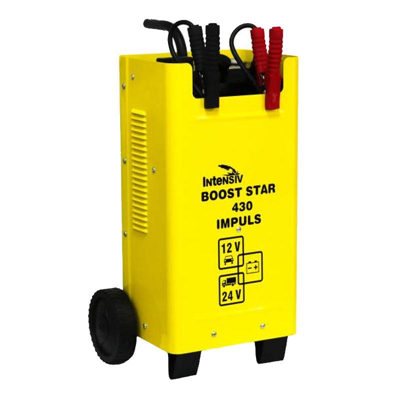 Robot si redresor auto Intensiv Boost Star 430 Impuls, 12/24 V, 260 A, 2 kW, 400 Ah 2021 shopu.ro