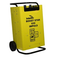 Robot si redresor auto Intensiv Boost Star 630 Impuls, 12/24 V, 420 A, 1000 Ah, accesorii incluse