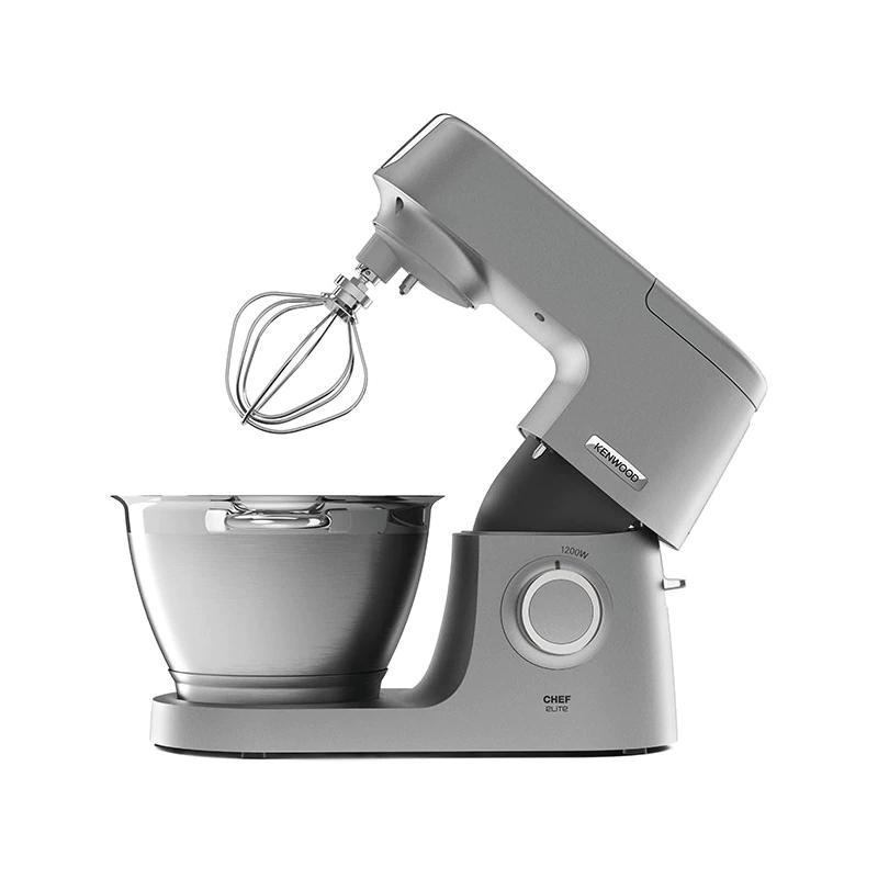 Robot de bucatarie Chef Elite Kenwood, 1200 W, 4.6 l, inox, Argintiu