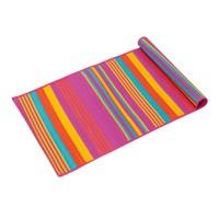 Rogojina pentru plaja, 180 x 60 cm, model dungi, Multicolor