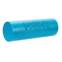 Rola spuma pentru exercitii Liveup, 13 x 38 cm, Albastru