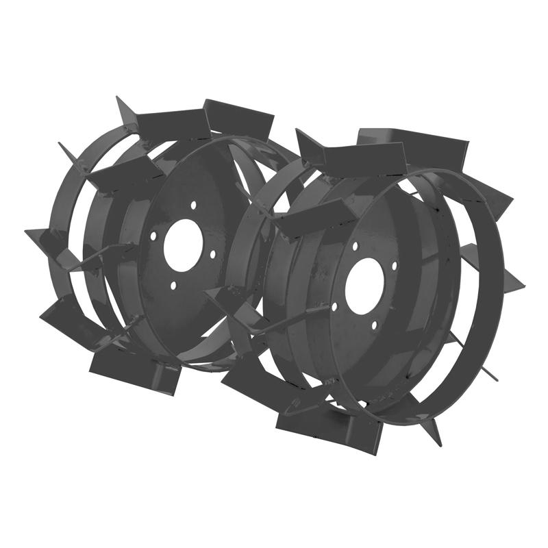 Roti metalice pentru motocultor/motosapa, 35 cm, corp metalic