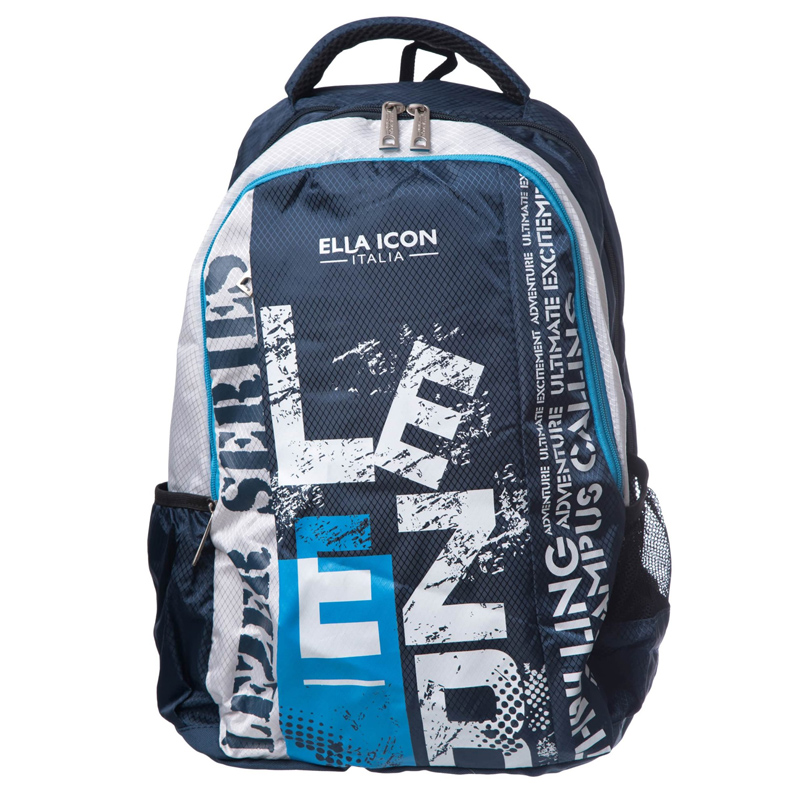 Rucsac Adventure Ella Icon, 46 x 36 x 18 cm, Albastru inchis 2021 shopu.ro