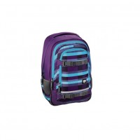 Rucsac All Out Selby, material poliester, model Summer Purple