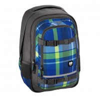 Rucsac All Out Selby, material poliester, model Woody Blue