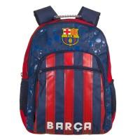 Rucsac FC Barcelona, 34 x 11 x 44 cm, Albastru/Rosu