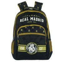 Rucsac Real Madrid, 45 cm, Negru/Galben