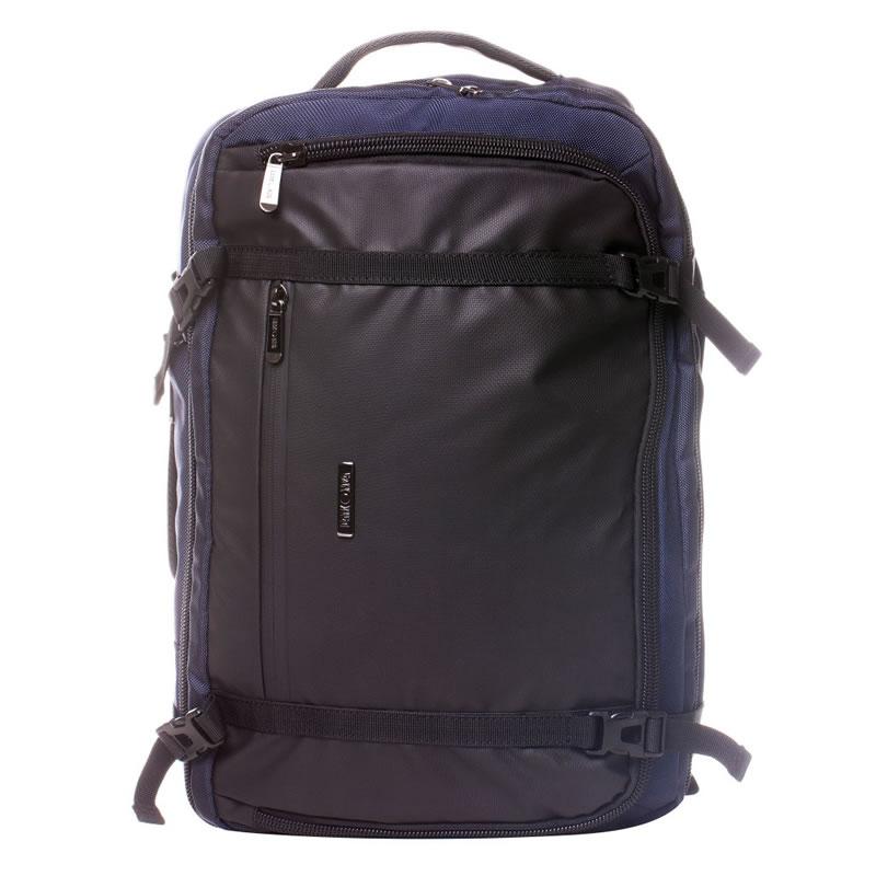 Rucsac laptop Lamonza Accord, 3 compartimente, negru 2021 shopu.ro