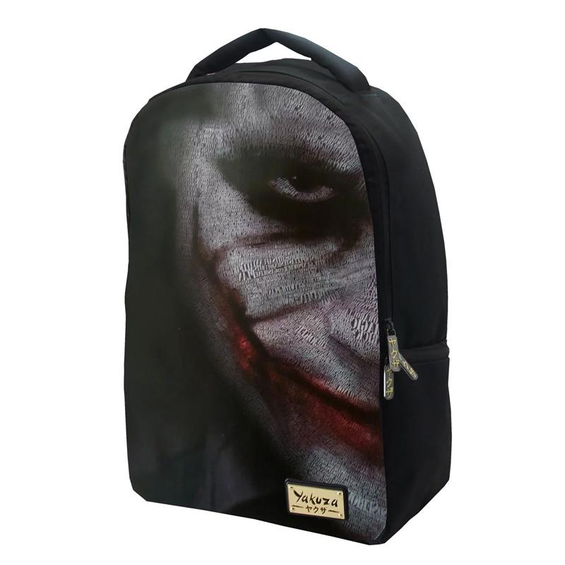 Rucsac pentru baieti Yakuza, 30 x 42 x 10 cm, model Joker 2021 shopu.ro
