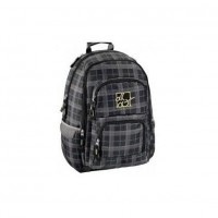 Rucsac pentru laptop All Out Louth, 15.6 inch, model Harvest Check