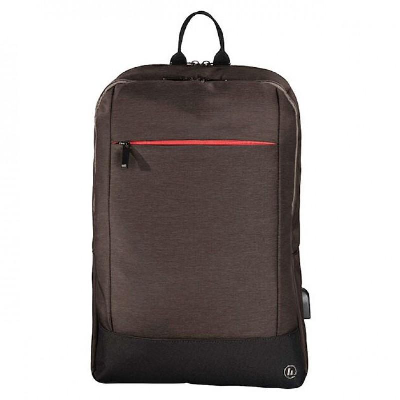 Rucsac pentru laptop Hama, 15.6 inch, Maro 2021 shopu.ro