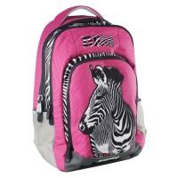 Rucsac scoala Animal Planet, model zebra