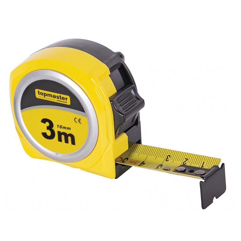 Ruleta compacta Top Master Pro, 5 m x 19 mm, curea antisoc 2021 shopu.ro