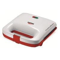 Sandwich Maker Albatros S2A-750, 750 W, Alb/Rosu
