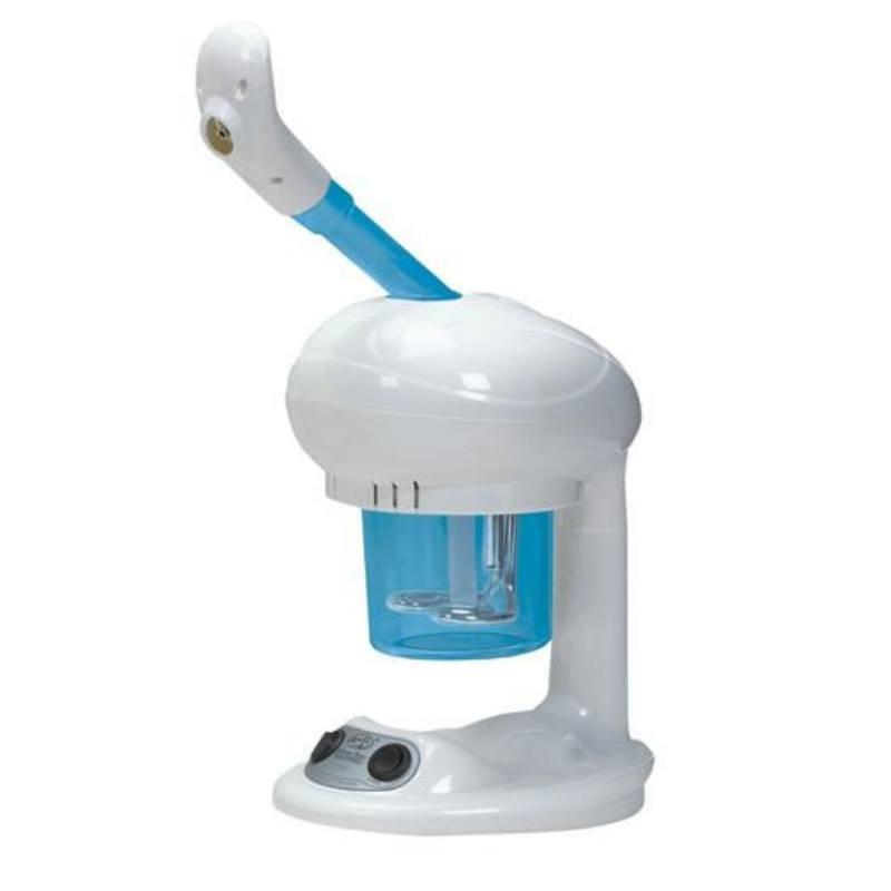 Vapozon cosmetic pentru tratament VM2, 300 W, Alb/Albastru 2021 shopu.ro