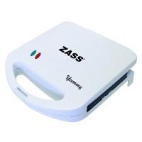 Sandwich Maker Zass ZSM 01, 750 W, alb