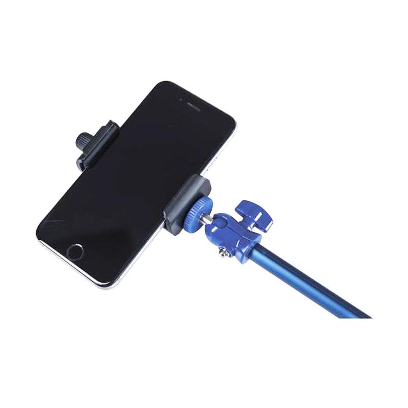 Monopod reglabil pentru selfie Rollei, bluetooth, Albastru 2021 shopu.ro