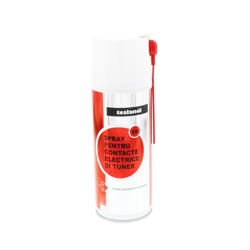 Spray pentru contacte electrice Teslanol, 400 ml 2021 shopu.ro