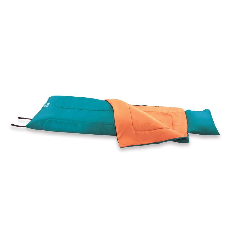 Sac de dormit Single Bestway Hibernator 200, 190 x 84 cm, sac transport, perna