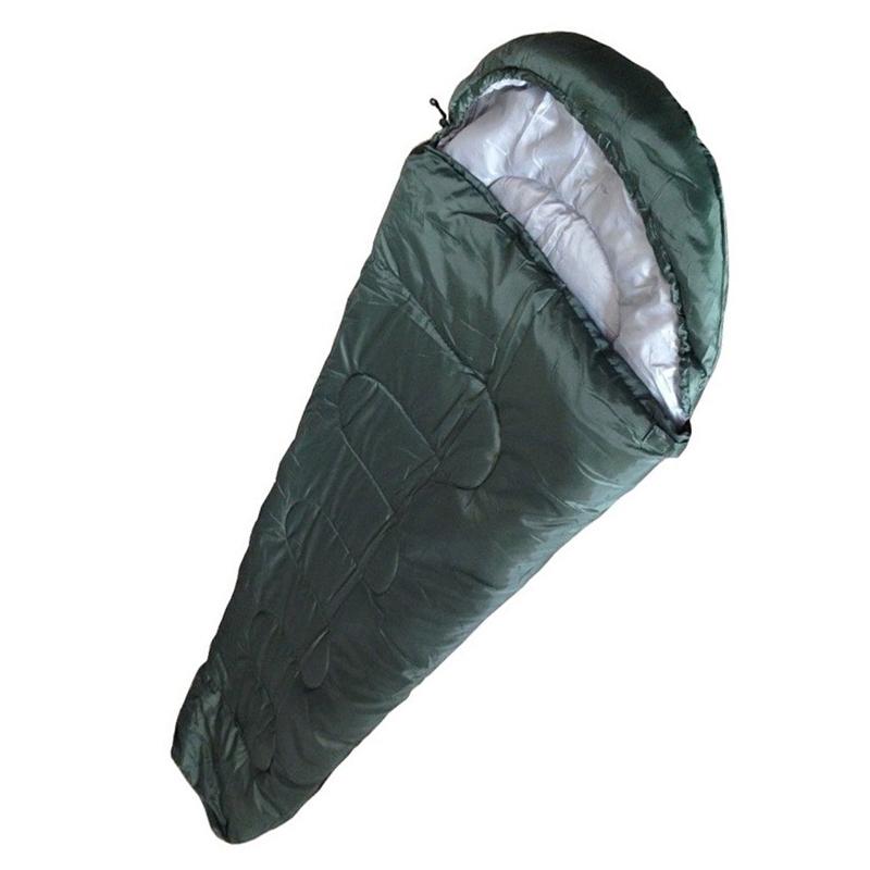 Sac de dormit cu gluga Mummy WR3211, o persoana, 190 x 80 x 50 cm 2021 shopu.ro