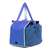 Sacosa izotermica pentru cumparaturi, 37 x 25 cm, Albastru