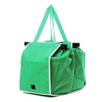 Sacosa izotermica pentru cumparaturi, 37 x 25 cm, Verde
