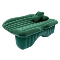 Saltea auto gonflabila Travel Bed, 138 x 85 x 45 cm, suporta 600 kg, Verde