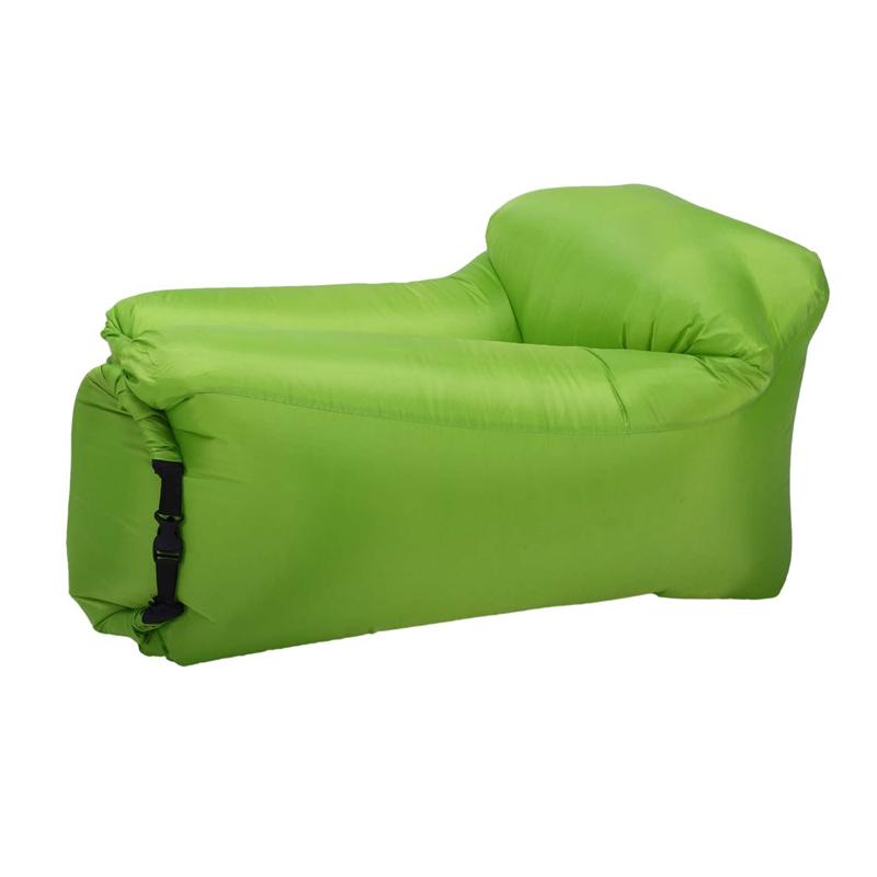 Saltea camping Cloud Air, maxim 200 kg, geanta transport, Verde 2021 shopu.ro