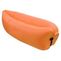 Saltea camping Cloud Lounger, 1 persoana, suporta maxim 180 kg, Portocaliu
