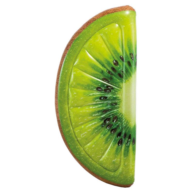 Saltea gonflabila Intex, 178 x 85 cm, forma felie kiwi