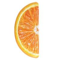 Saltea gonflabila Intex, 178 x 85 cm, model felie portocala