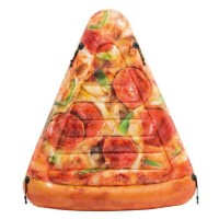 Saltea gonflabila Pizza Intex, 175 x 145 cm, forma felie pizza