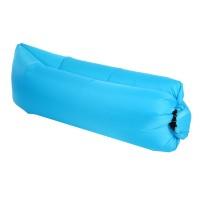 Saltea gonflabila pentru camping, 260 x 72 cm, Albastru