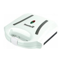 Sandwich Maker Hausberg, 800 W, LED, Alb