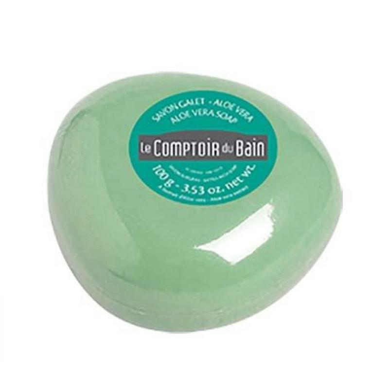 Sapun surgras Le Comptoir du Bain, 100 g, aloe 2021 shopu.ro
