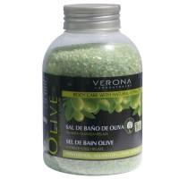 Sare de baie Verona, 600 g, extract masline