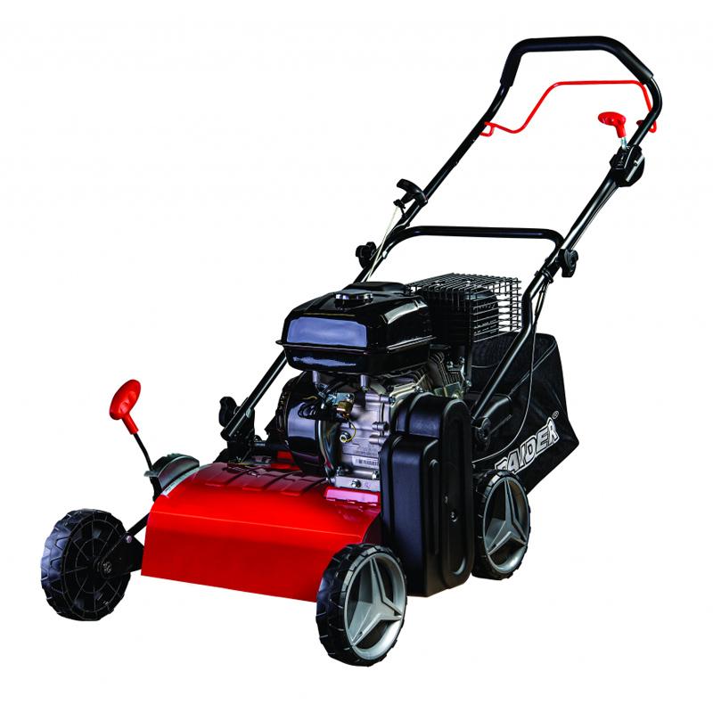 Scarificator benzina Raider, 4 kW, 5.5 CP, 45 l, 420 mm, 3000 rpm, 4 timpi shopu.ro