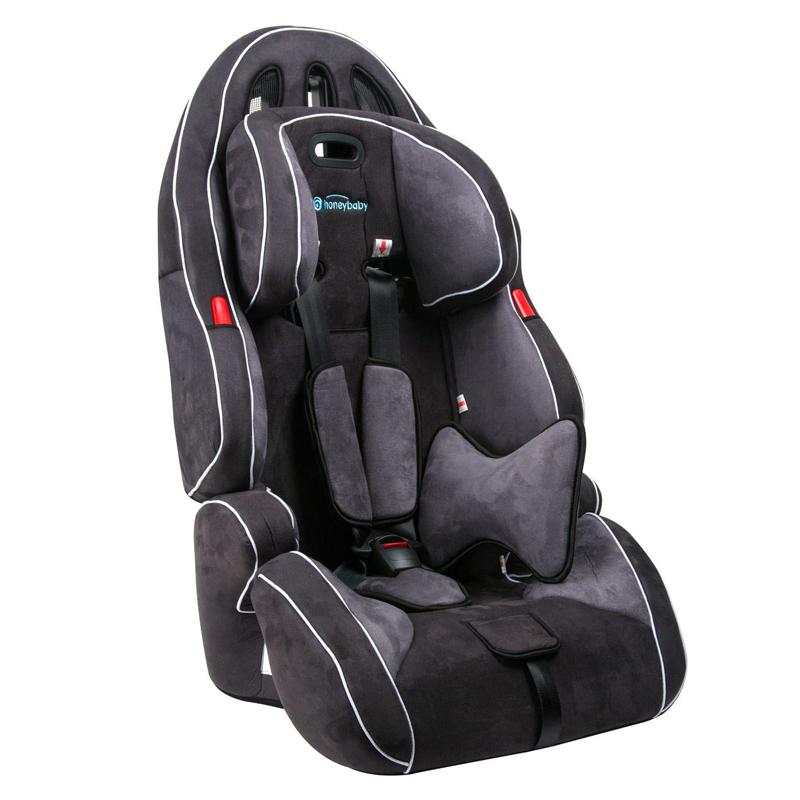 Scaun auto pentru copii Honey Baby, 46 x 43 x 75 cm, Negru 2021 shopu.ro