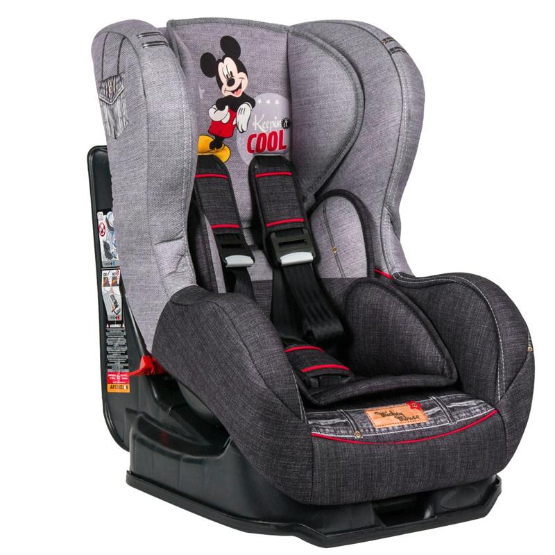 Scaun auto pentru copii, 42 x 54 x 65 cm, model Mickey Mouse 2021 shopu.ro