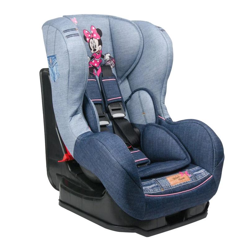 Scaun auto pentru copii, 42 x 54 x 65 cm, model Minnie Mouse 2021 shopu.ro