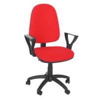 Scaun birou ergonomic Golf LX, stofa C02, Rosu