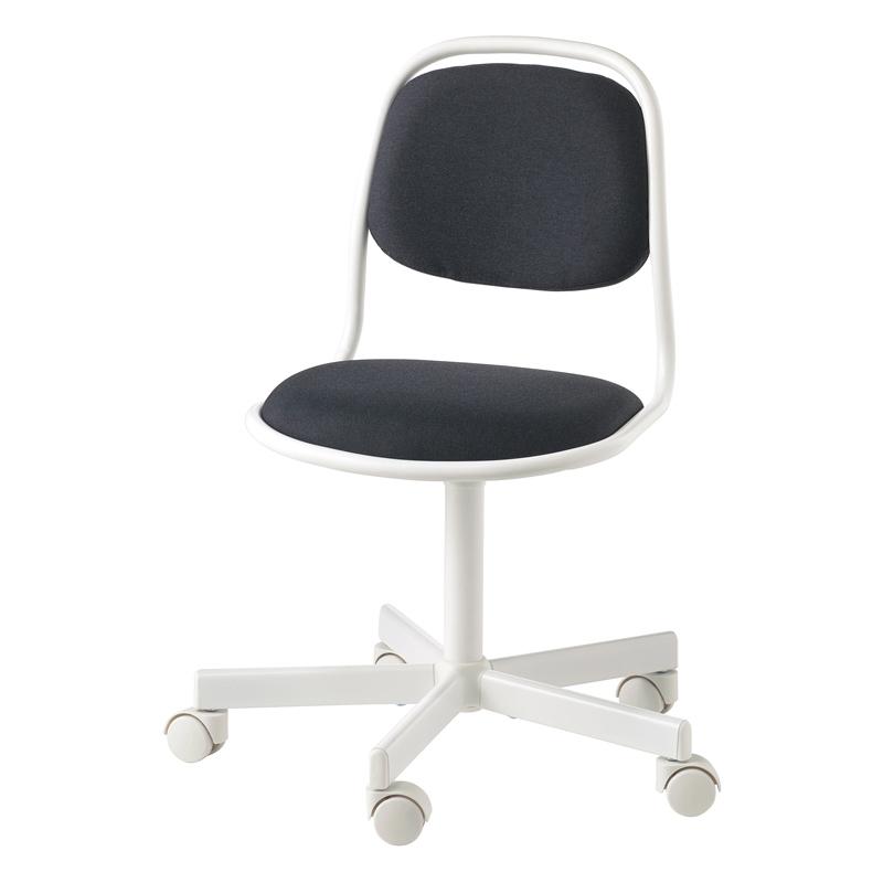 Scaun birou pentru copii, inaltime 83 cm, suporta maxim 110 kg, Negru/Alb 2021 shopu.ro