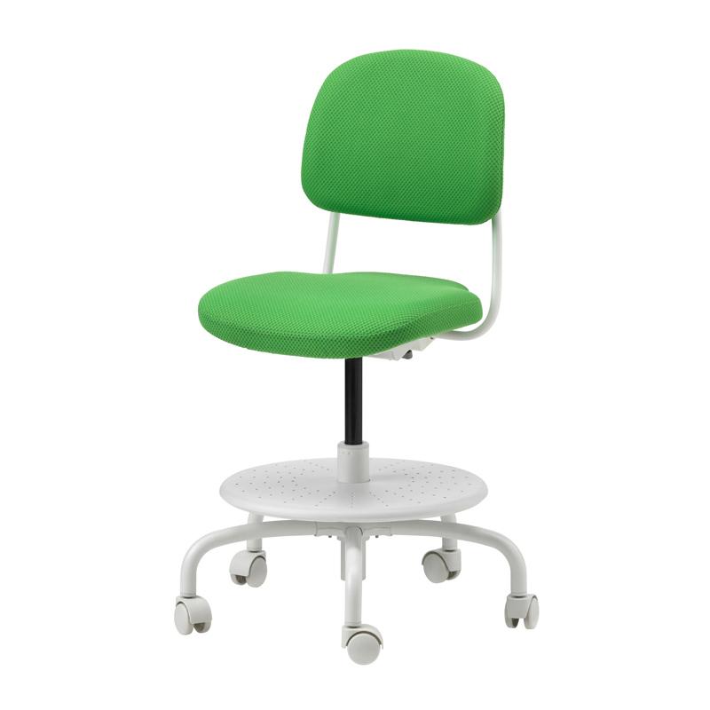 Scaun birou pentru copii, inaltime 86 cm, suporta maxim 110 kg, Verde/Alb 2021 shopu.ro
