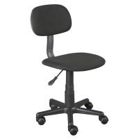 Scaun birou pentru copii, suporta maxim 60 kg, Negru