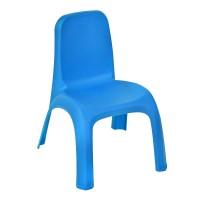 Scaun din plastic pentru copii, 43 x 37 x 52.5 cm, Albastru