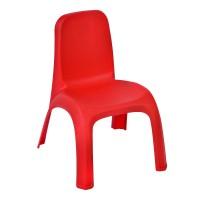 Scaun din plastic pentru copii, 43 x 37 x 52.5 cm, Rosu