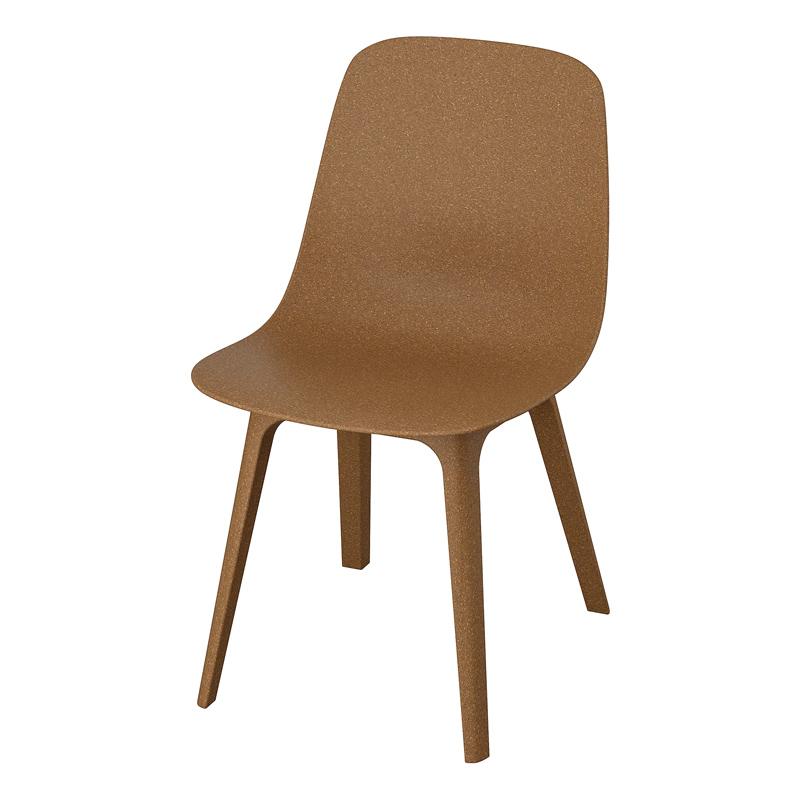 Scaun pentru bucatarie, inaltime 81 cm, Maro 2021 shopu.ro