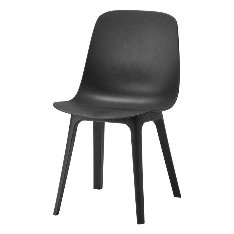Scaun pentru bucatarie, inaltime 81 cm, Negru 2021 shopu.ro