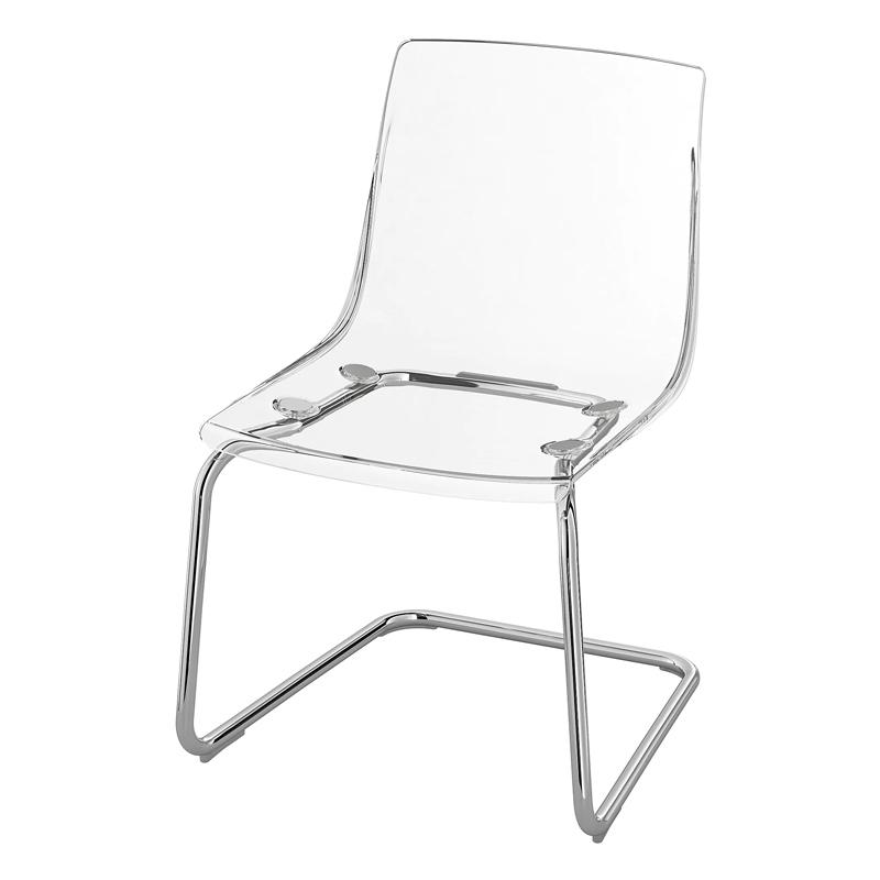 Scaun pentru bucatarie, inaltime 82 cm, suporta maxim 110 kg, Transparent shopu.ro
